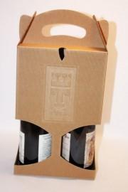 emballage vin recyclé