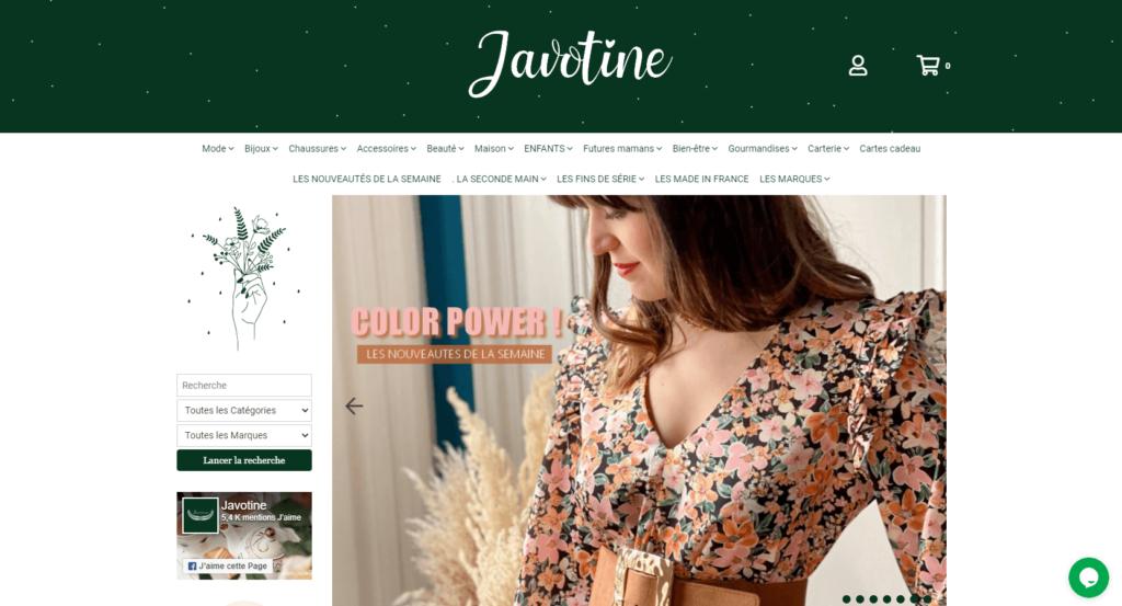 Javotine, le concept store 100% girly