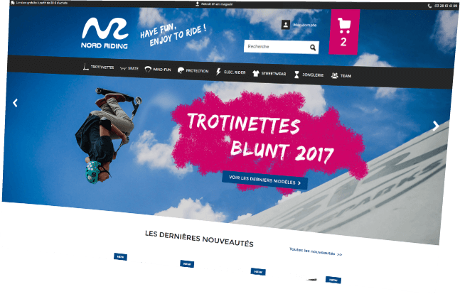 Nord riding - Trotinette freestyle