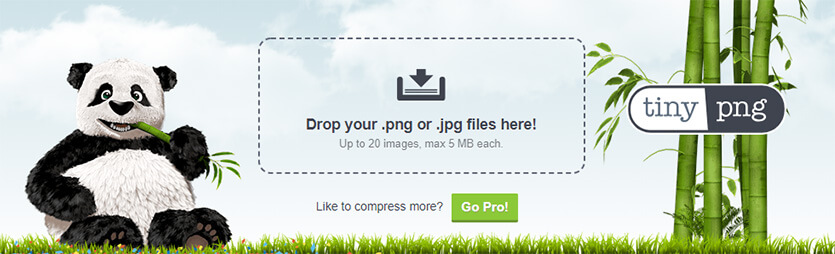 TinyPNG : outil en ligne pour compresser les images